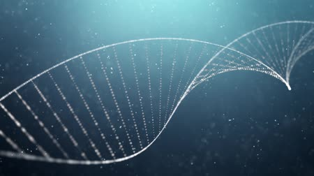 biotech : DNA double helix medical background Stock Footage