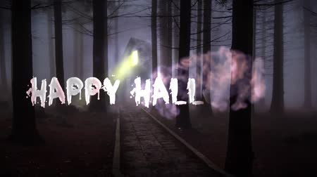 conversa : Happy Halloween creepy background animation Vídeos