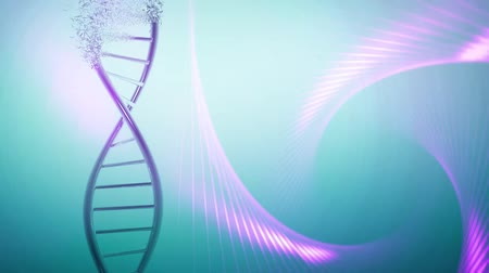 mikroszkopikus : DNA helix genetic research,medical background