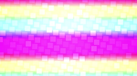 acceptance : LGBT pride month rainbow background Stock Footage