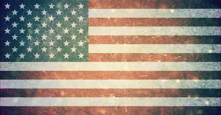 hlasování : 4th of july USA flag background