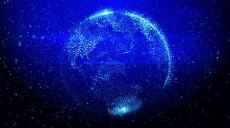 global iş : Digital earth international communications background