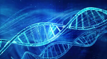 dvojitý : DNA double helix structure , medical and technology background