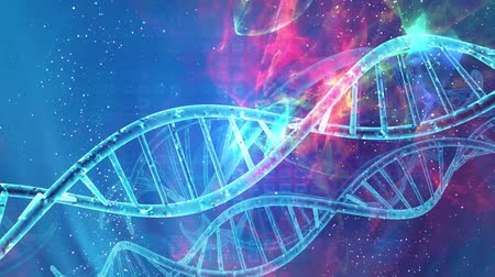 genoma : DNA double helix structure , medical and technology background