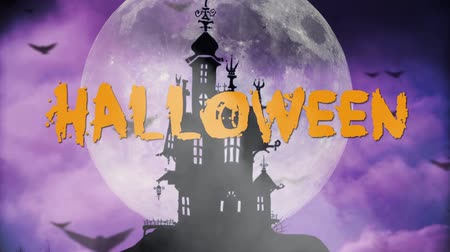 haunted : Happy Halloween haunted background