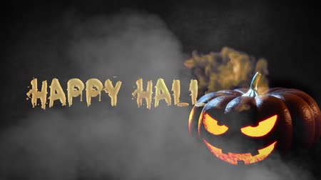 bat : Happy Halloween haunted pumpkin background