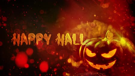 assombrada : Happy Halloween haunted pumpkin background