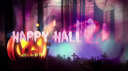 надгробие : Happy Halloween haunted forest