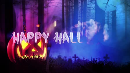 festa : Happy Halloween haunted forest