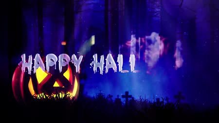 lapide : Happy Halloween haunted forest