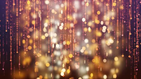 glittery : Winter holiday falling sparkles background