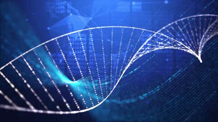 klon : DNA double helix  medical research background Dostupné videozáznamy