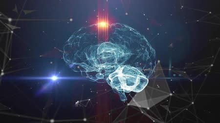 inteligencia artificial : Concepto de inteligencia artificial del cerebro humano