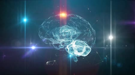 intelecto : Human brain artificial intelligence concept
