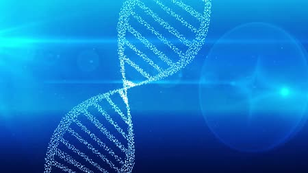 klon : DNA double helix strand medical background