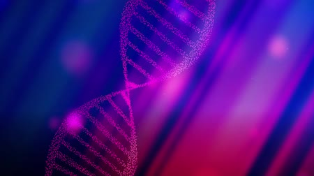 genético : DNA double helix strand medical background