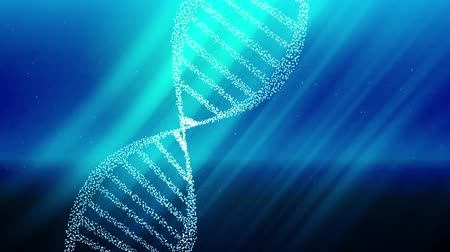 enzyme : DNA double helix strand medical background