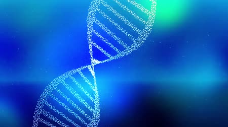 enzima : DNA double helix strand medical background
