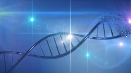 genoma : Ricerca genetica DNA background medico