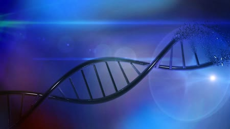 微視的 : Genetics research DNA medical background