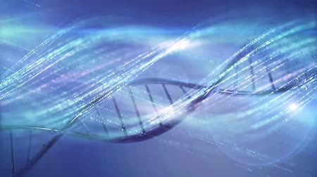 innováció : Genetics research DNA medical background