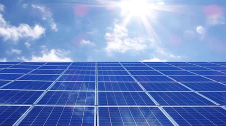 solar power : Photovoltaic solar panels green energy