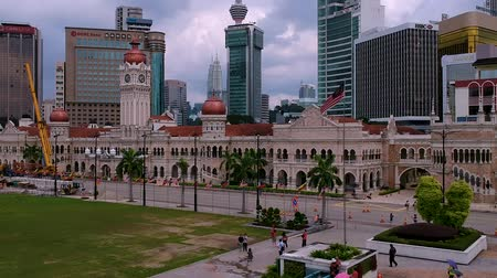 abdul : Kuala Lumpur,Malaysia - December 28, 2017: Dataran Merdeka or Merdeka Square is undoubtedly Kuala Lumpurs best known landmark. It is situated in front of the Sultan Abdul Samad Building.