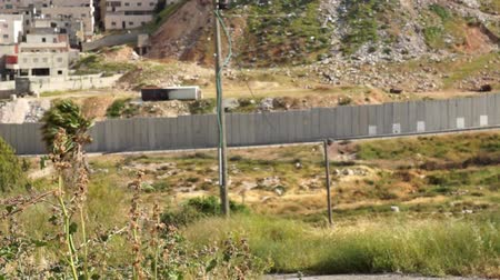 jerozolima : Israeli West Bank barrier