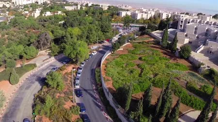 israele : Video di Beautiful volo Jerusalem sorvola Gerusalemme e la città vecchia