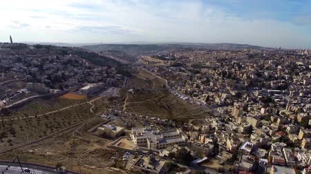 jeruzalém : Jerusalem flight  Beautiful video flying over Jerusalem and the old city  Dostupné videozáznamy