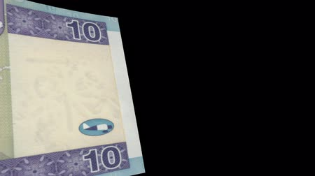Lithuania banknote Wiper Video Effect simulates Lithuania Money banknote Transition from left to right with alpha channel