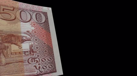 wiper : Mauritius banknote Wiper Video Effect simulates Mauritius Money banknote Transition from left to right with alpha channel