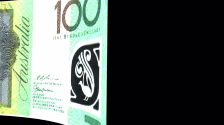 stiff : Australia banknote Wiper Video Effect simulates Australia Money banknote Transition from left to right with alpha channel