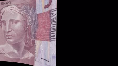 stiff : Brazil banknote Wiper Video Effect simulates Brazil Money banknote Transition from left to right with alpha channel