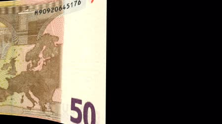 stiff : Euro banknote Wiper Video Effect simulates Euro Money banknote Transition from left to right with alpha channel