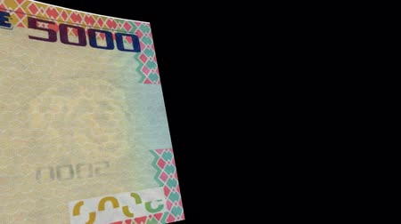 stiff : Sierra Leone banknote Wiper Video Effect simulates Sierra Leone Money banknote Transition from left to right with alpha channel
