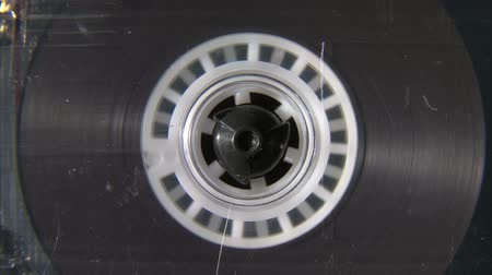 лента : Audio cassette reel playing