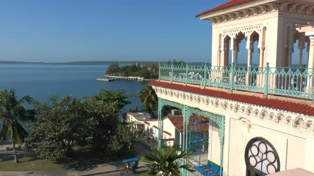 kuba : View on Cienfuegos bay from Palacio de Valle, Cuba