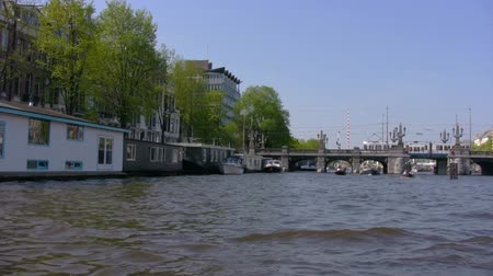 amsterodam : Canals of Amsterdam - boat trip , Netherlands