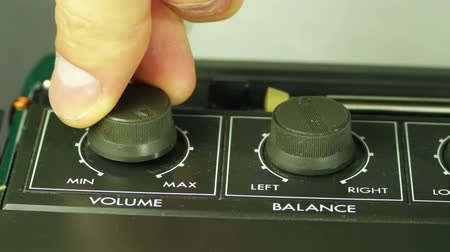 tokmak : Spin the Volume Control on the Tape Recorder.