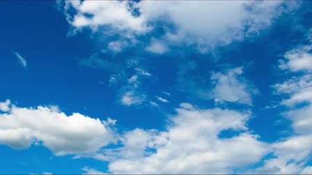 altostratus : Clouds moving in the blue sky. Stock Footage