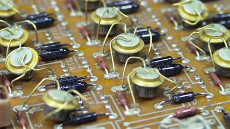 solder : Circuit Boards with Electronic Components