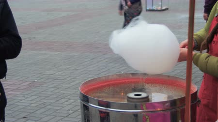 bavlna : Making of Cotton Candy