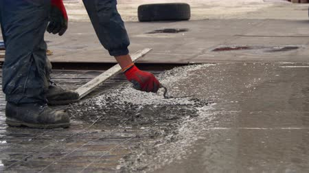cement floor : Alignment Concrete Screed