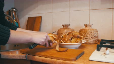 peeler : Peeling Potatoes in the Home Kitchen