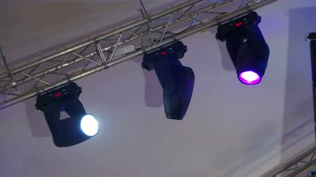 rocks red : Professional Lighting Equipment For the Concert, the Light on the Stage, Lighting Devices