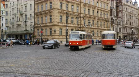 namesti : Czech Tram Rides through the Old City of the Czech Republic, Prague