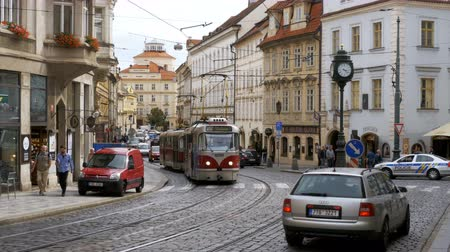 tramwaj : Czech Tram Rides through the Old City of the Czech Republic, Prague