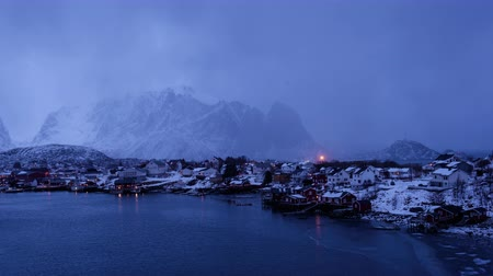 Weather in Reine town