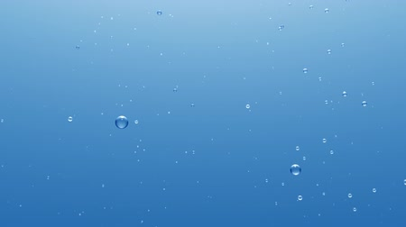 coloured background : Light Blue Underwater Background With Rising Bubbles